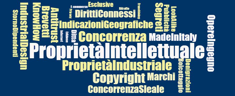 proprietà intellettuale industriale